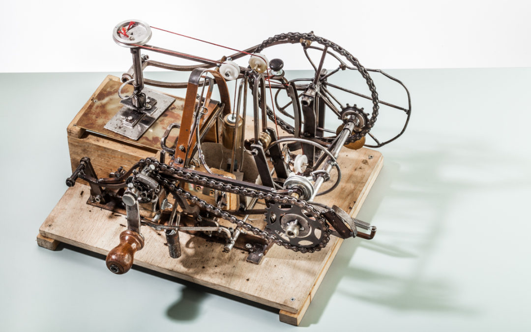 Einzelzettelschneidmaschine